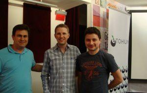 Wordcamp, Matt Mullenweg, Mahir Aşut ve Mustafa Çamaltı