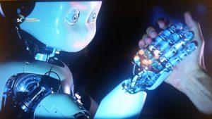 Robot'la Bilek Güreşi